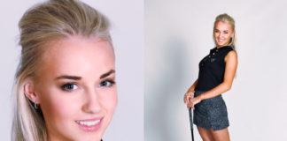 MissGolf 2020 - finalistka Karolína Nováková