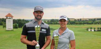 Mistři PGA na rány 2021 - Stanislava Matuš a Lucie Hinnerová - foto Annie Krčmářová