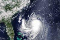 Hurikán Henri - foto NASA