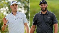 Justin Thomas a Jon Rahm - foto twitter PGA Tour