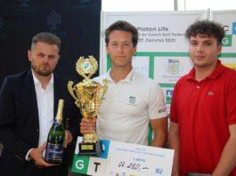 Vítěz Jakub Bareš uprostřed - foto Ivan Paggio